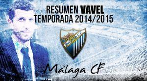 Resumen temporada 2014/15 del Málaga CF: lo que duraron las pilas