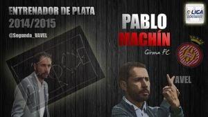 Pablo Machín: Mejor entrenador de la Liga Adelante 2014-15
