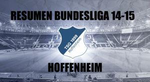 Resumen temporada 2014/2015 del Hoffenheim: remar para quedarse en la orilla