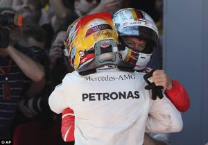 Lewis vs Sebastian: che numeri!