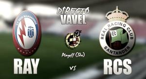 Rayo Majadahonda - Racing de Santander en directo online playoffs 2017 (1-3)