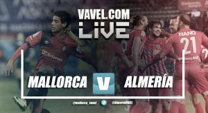 Partido Mallorca - Almería en directo online en Segunda División 2017 (1-0)