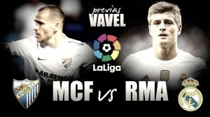 Málaga CF - Real Madrid: a por todas, sin titubeos