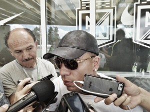 """Dayro Moreno: """"Tenemos que terminar la copa con mucha dignidad"""""""