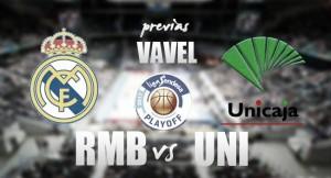 Previa Real Madrid - Unicaja: el camino a la final comienza en el WiZink Center