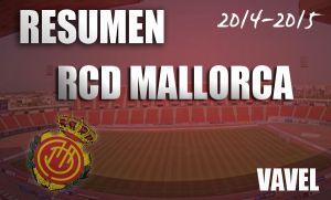 Resumen temporada 2014/15 del RCD Mallorca: el equipo vuelve a defraudar