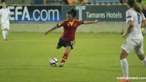 Nahikari García, convocada con la sub-19
