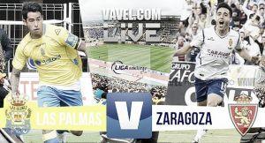 Resultado Las Palmas vs Real Zaragoza en el play off de ascenso (2-0)