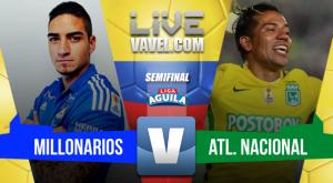 Millonarios y Nacional se fueron sin goles en la ida (0-0)