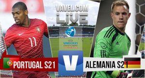 Resultado Portugal vs Alemania en semifinales del campeonato sub-21 europeo (5-0)