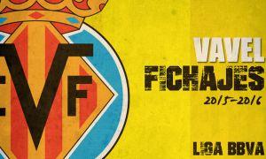 Fichajes del Villarreal CF en vivo y en directo online, temporada 2015/2016