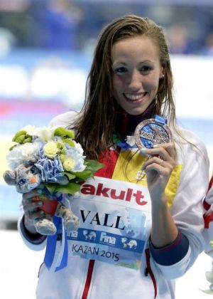 Jessica Vall, primer bronce para la natación en Kazan