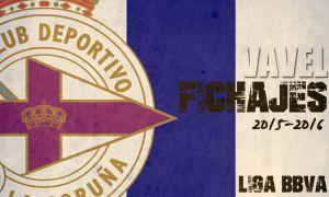 Fichajes del Deportivo de La Coruña en vivo y en directo online, temporada 2015/2016