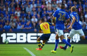 L'Arsenal si blocca a Leicester: 1-1