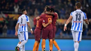 Serie A - La Roma soffre ma vince: 3-2 contro un buon Pescara