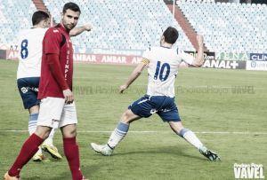 El pichichi del Real Zaragoza B volvió a ver puerta