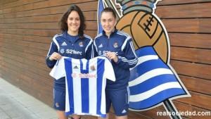 Maialen Zelaia y Nuria Mendoza renuevan con la Real Sociedad