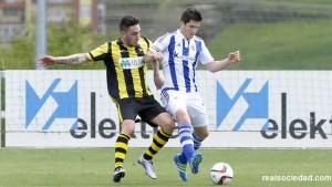 Fiesta del gol en Zubieta
