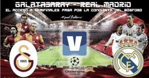 Galatasaray - Real Madrid: el acceso a semifinales pasa por la conquista del Bósforo