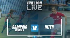 Jogo Inter x Sampaio Corrêa na Copa do Brasil 2017