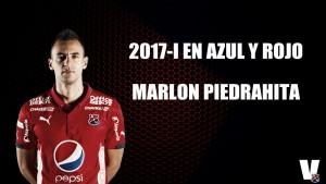 2017-I en azul y rojo: Marlon Piedrahita