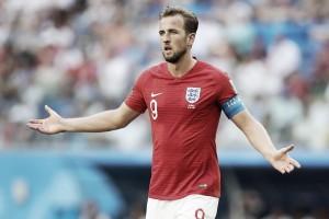 """Possível artilheiro da Copa, Kane lamenta falta de gols na fase final: """"Às vezes entra, outras não"""""""