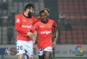 El Nàstic supera al Zaragoza y se reafirma como equipo de la zona alta