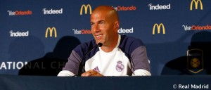 """Zidane: """"Siempre puedes mejorar la plantilla, pero la del Real Madrid es difícil"""""""
