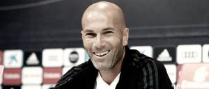 """Zidane: """"Tengo el corazón blanco y disfruto cada día aquí"""""""