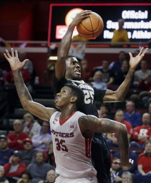 Wake Forest Holds Off Rutgers, 69-68, In ACC-Big Ten Challenge Contest
