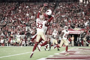 Carson Palmer touchdown pass in overtimes leads Arizona Cardinals past San Francisco 49ers