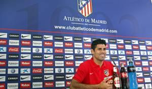 """Diego Costa: """"Nunca pensé en salir del Atlético de Madrid"""""""
