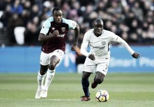 Premier League - West Ham di cuore, derby indigesto per il Chelsea: 1-0 all'Olympic Stadium