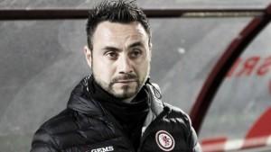 """Palermo,De Zerbi atteso domani per la firma. Zamparini intanto gli da il benvenuto: """"Mi affascina"""""""