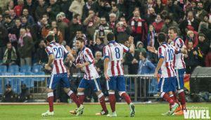 El Atlético de Madrid coge velocidad de crucero