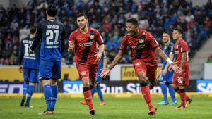 Bundesliga - Bayer Leverkusen nel segno di Bailey, l'Hoffenheim si arrende alla sfortuna: 1-4