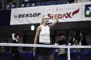 Azarenka no falla y accede a los cuartos de final en Tokio