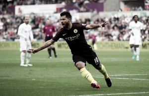 Premier League, Aguero trascina il City al Liberty Stadium: lo Swansea si arrende 3-1 ai ragazzi di Guardiola