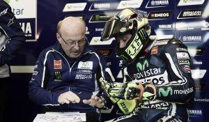 """Valentino Rossi: """"No estoy feliz por el día de hoy"""""""
