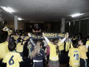 El Cádiz imparte clases de cadismo por los colegios gaditanos