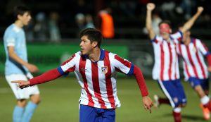 Diego Gama sella el pase del Atlético de Madrid a octavos de la UEFA Youth League