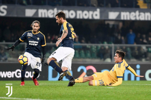 Terminata Juventus - Hellas Verona, LIVE Serie A 2017/18 (2-1): Buffon lascia la Signora, quante emozioni!