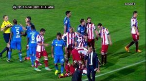 """Juan Rodríguez justifica su pisotón a Mandzukic: """"No es para romperle la pierna"""""""