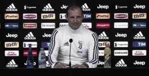 """Milan - Juve, parla Allegri: """"Partita di grande fascino, ma lo Scudetto si decide negli ultimi cinque turni"""""""