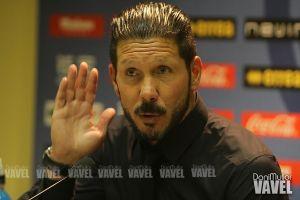 """Simeone: """"No concretamos el partido en el primer tiempo"""""""