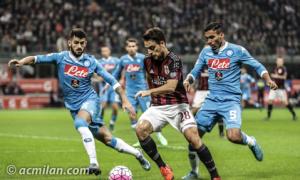 El Napoli arroya al Milan