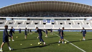 Cuatro internacionales vuelven a Málaga