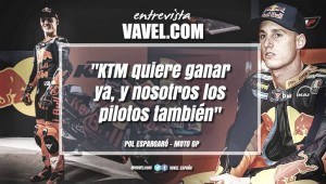 """Entrevista. Pol Espargaró: """"KTM quiere ganar ya y nosotros los pilotos también"""""""