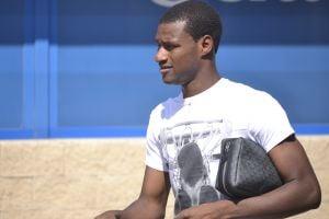"""Mamadou: """"Seguiré trabajando para ganarme más minutos"""""""