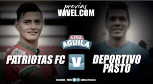 Previa Patriotas vs Deportivo Pasto: tres puntos para enderezar el camino en la tabla de posiciones de la Liga Águila 2017-II